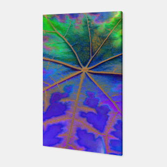 Thumbnail image of Leaf Incredible, Turquoise Canvas, Live Heroes