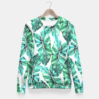 Thumbnail image of Leafy Wonder V2 Fitted Waist Sweater, Live Heroes