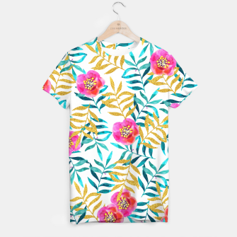 Thumbnail image of Floral Sweetness T-shirt, Live Heroes