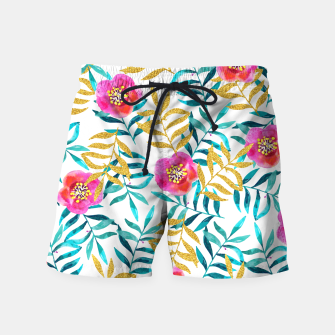 Thumbnail image of Floral Sweetness Swim Shorts, Live Heroes