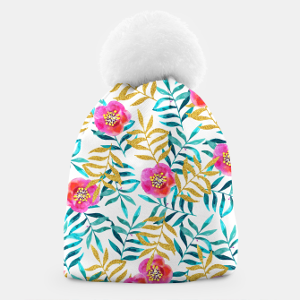Thumbnail image of Floral Sweetness Beanie, Live Heroes