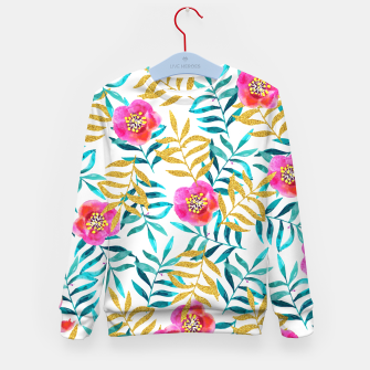 Thumbnail image of Floral Sweetness Kid's Sweater, Live Heroes