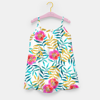 Thumbnail image of Floral Sweetness Girl's Dress, Live Heroes