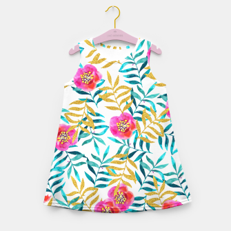 Thumbnail image of Floral Sweetness Girl's Summer Dress, Live Heroes