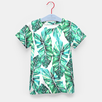 Leafy Wonder V2 Kid's T-shirt thumbnail image