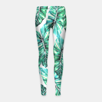 Leafy Wonder V2 Girl's Leggings thumbnail image