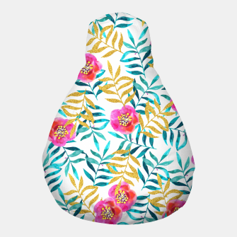Thumbnail image of Floral Sweetness Pouf, Live Heroes