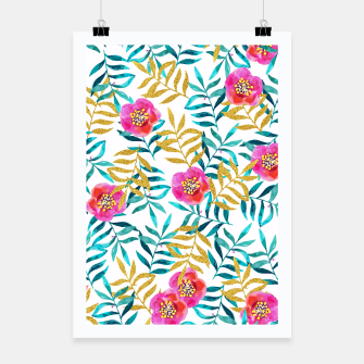 Thumbnail image of Floral Sweetness Poster, Live Heroes