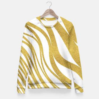 Thumbnail image of Golden Wave Fitted Waist Sweater, Live Heroes