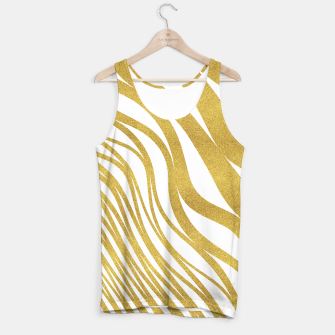Thumbnail image of Golden Wave Tank Top, Live Heroes