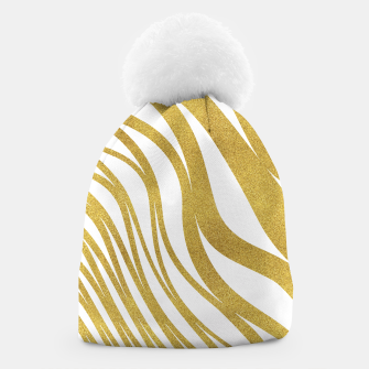 Thumbnail image of Golden Wave Beanie, Live Heroes