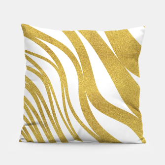 Thumbnail image of Golden Wave Pillow, Live Heroes