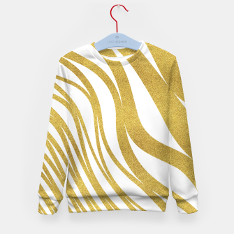 Thumbnail image of Golden Wave Kid's Sweater, Live Heroes