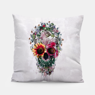 Thumbnail image of Sugar Skull Pillow, Live Heroes