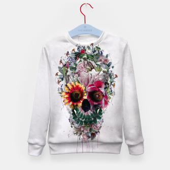 Thumbnail image of Sugar Skull Kid's Sweater, Live Heroes
