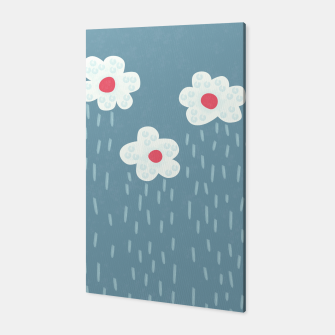 Thumbnail image of Flowery Rain Clouds Canvas, Live Heroes