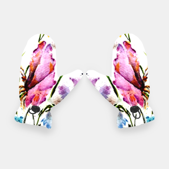 Thumbnail image of GARDEN OF BUTTERFLIES AND FLOWERS Gloves, Live Heroes