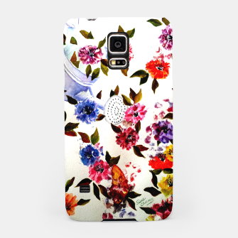 Thumbnail image of WATER CAN SPILLING COLORFUL FLOWERS Samsung Case, Live Heroes