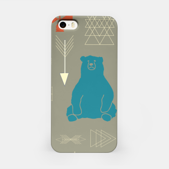 Thumbnail image of Tribal Bear gray iPhone Case, Live Heroes