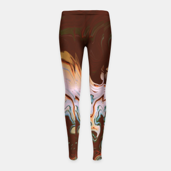 Thumbnail image of Yuth Girl's Leggings, Live Heroes