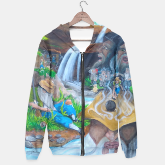 Thumbnail image of Rip's Rest Cotton zip up hoodie, Live Heroes