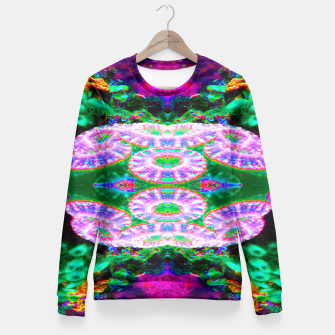 Thumbnail image of Acan Saucer Woman cotton sweater, Live Heroes