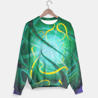 Thumbnail image of Ethereal Urchin Cotton sweater, Live Heroes