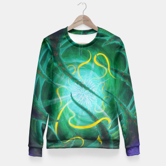 Thumbnail image of Ethereal Urchin Woman cotton sweater, Live Heroes
