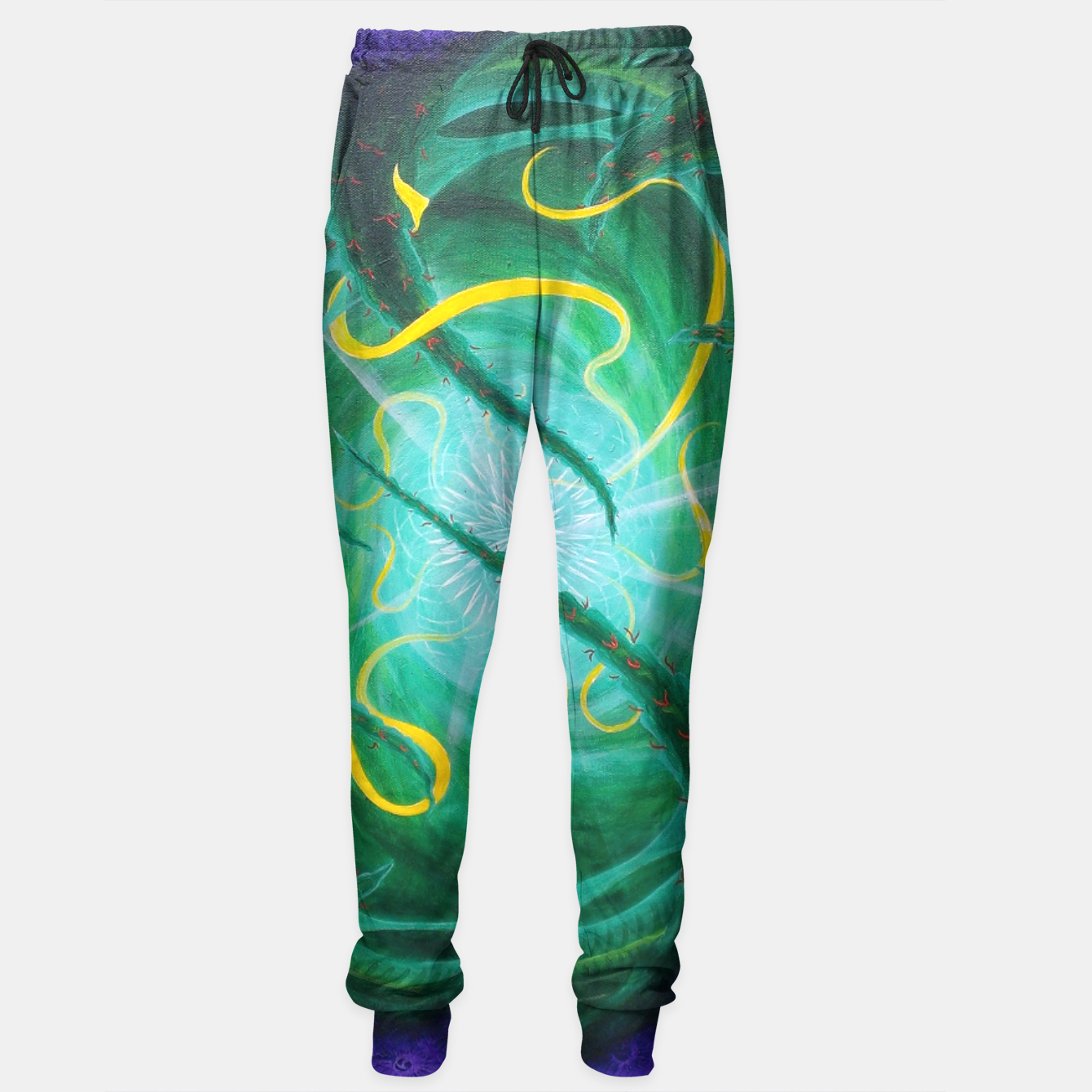 Image of Ethereal Urchin Cotton sweatpants - Live Heroes