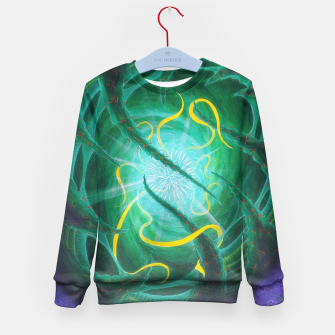 Thumbnail image of Ethereal Urchin Kid's sweater, Live Heroes