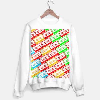 Thumbnail image of Mix-taped Sweater regular, Live Heroes
