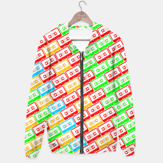 Thumbnail image of Mix-taped Hoodie, Live Heroes