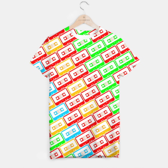 Thumbnail image of Mix-taped T-shirt, Live Heroes