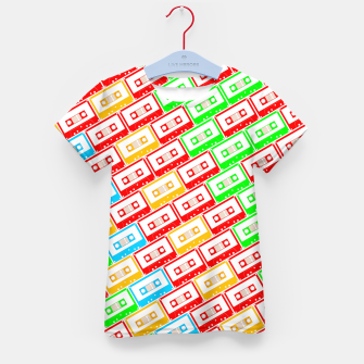 Thumbnail image of Mix-taped Kid's T-shirt, Live Heroes