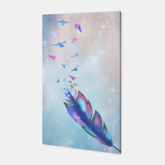Thumbnail image of Feathered birds Canvas, Live Heroes