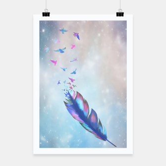 Thumbnail image of Feathered birds Poster, Live Heroes