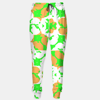 Thumbnail image of Graphic Floral Pattern Sweatpants, Live Heroes