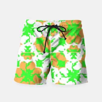 Thumbnail image of Graphic Floral Pattern Swim Shorts, Live Heroes