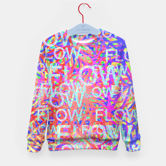 Thumbnail image of flow Kid's Sweater, Live Heroes