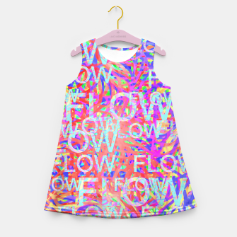 Thumbnail image of flow Girl's Summer Dress, Live Heroes