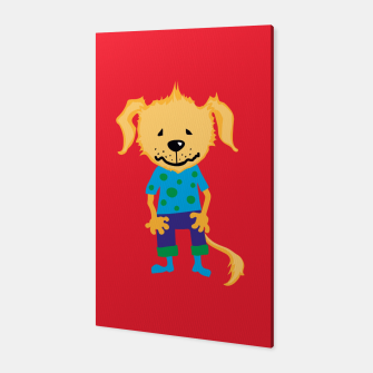 Thumbnail image of dotti dog Canvas, Live Heroes