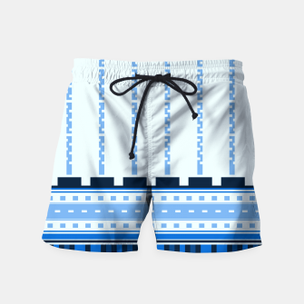 Thumbnail image of Blue Industry Swim Shorts, Live Heroes