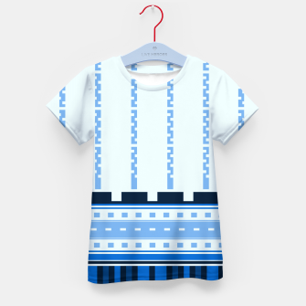 Thumbnail image of Blue Industry Kid's T-shirt, Live Heroes