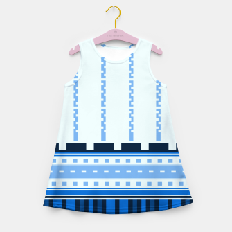 Thumbnail image of Blue Industry Girl's Summer Dress, Live Heroes