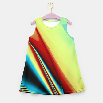 Thumbnail image of Sunset on The Beach Girl's Summer Dress, Live Heroes