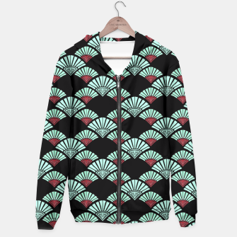 Thumbnail image of Turquoise Night Hoodie, Live Heroes