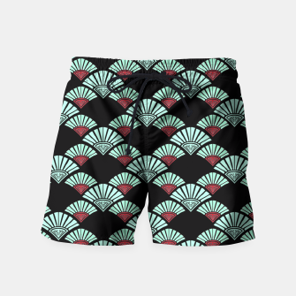 Thumbnail image of Turquoise Night Swim Shorts, Live Heroes