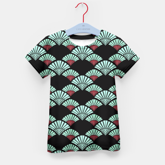 Thumbnail image of Turquoise Night Kid's T-shirt, Live Heroes