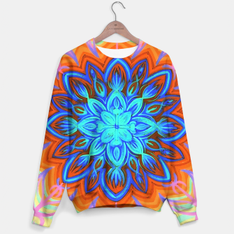 Thumbnail image of Brite Blue Blossom Sweater, Live Heroes