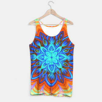 Thumbnail image of Brite Blue Blossom Tank Top, Live Heroes